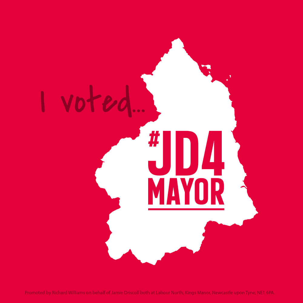 I voted #JD4Mayor